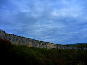 Stage escalade Toussaint 2012 en Ardèche avec Cordévasion