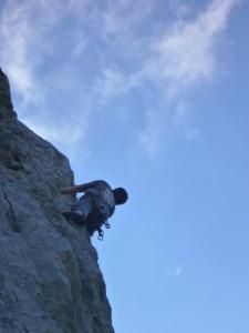 Stage escalade découverte Ardèche avec Cordévasion