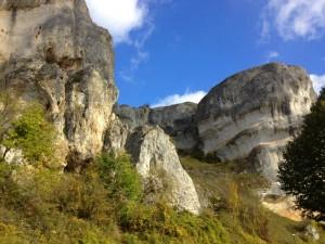 escalade rocher du Saussois