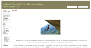 CDAM, escalade à Mourmelon