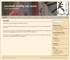 Romilly-escalade