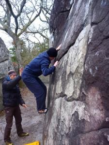 stage escalade Fontainebleau-Cordévasion