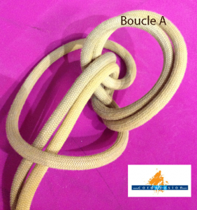 Noeud de chaise double pour ancrage cord vasion - Comment faire un noeud de chaise ...