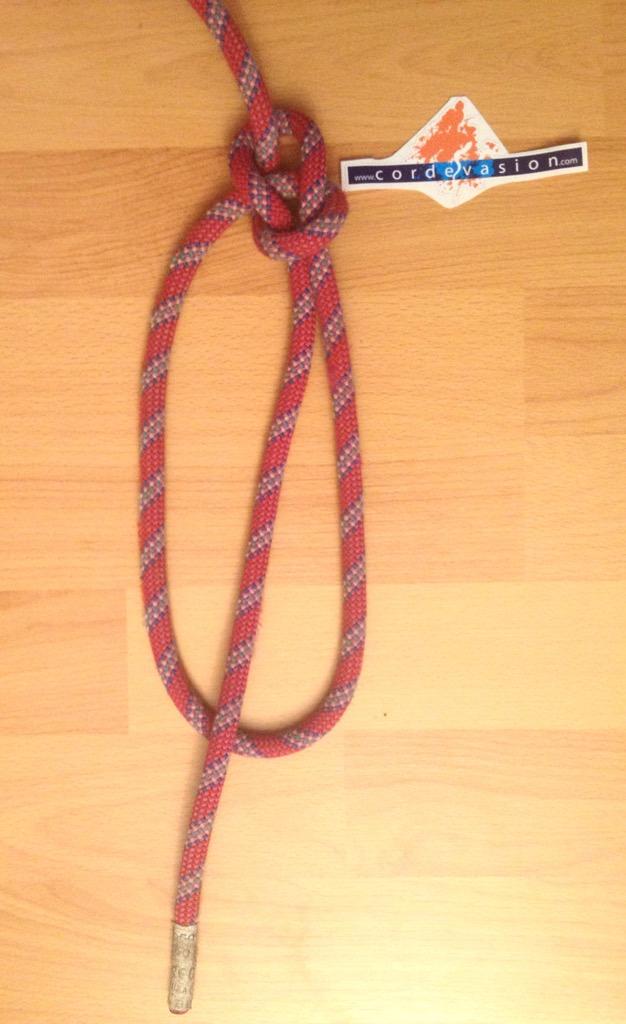 Noeud de chaise yosemite cord vasion - Faire un noeud de chaise ...