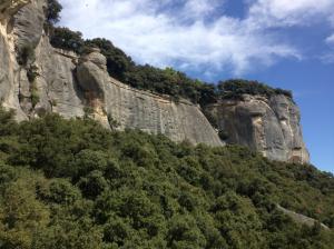 Stage escalade Buoux 2014, Cordévasion