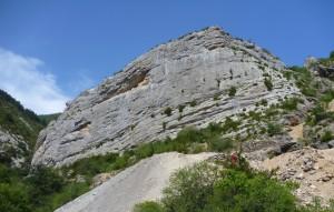 Stage perfectionnement falaise à Orpierre avec Cordévasion