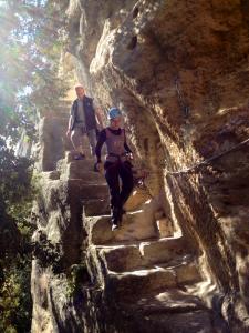 Buoux escalade découverte de la falaise